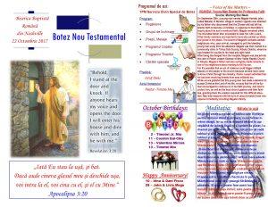 Buletin 10-22-17 Botez page 1 & 2
