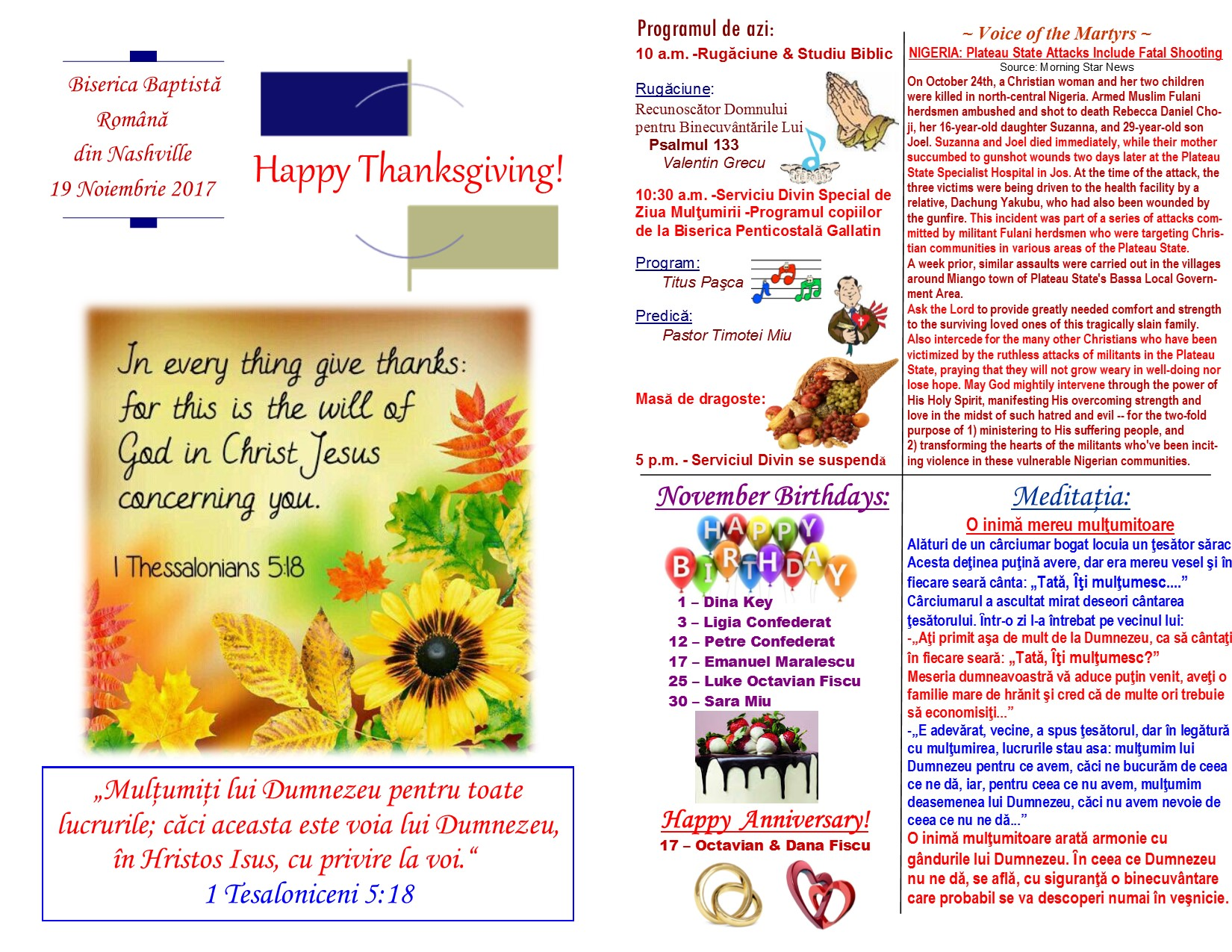 Buletin 11-19-17 page 1 & 2