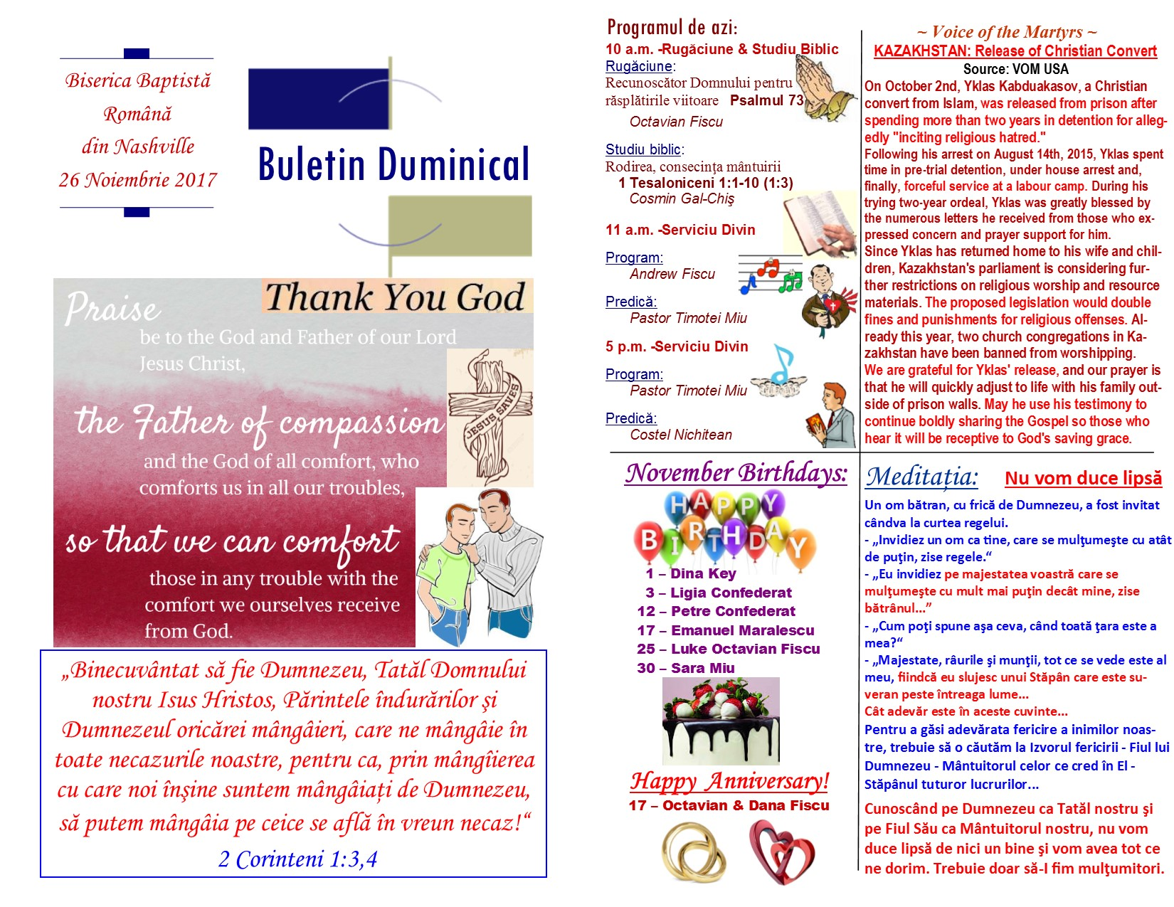 Buletin 11-26-17 page 1 & 2