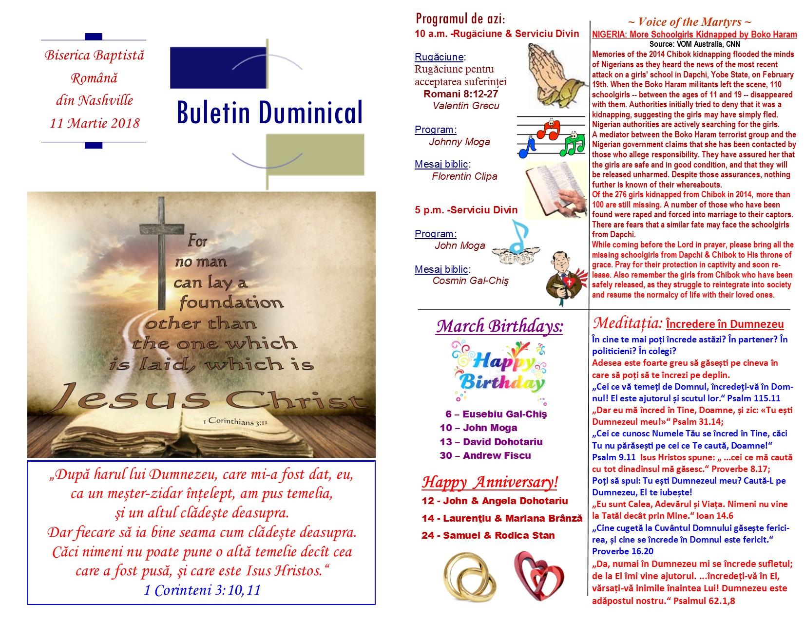 Buletin 03-11-18 page 1 & 2