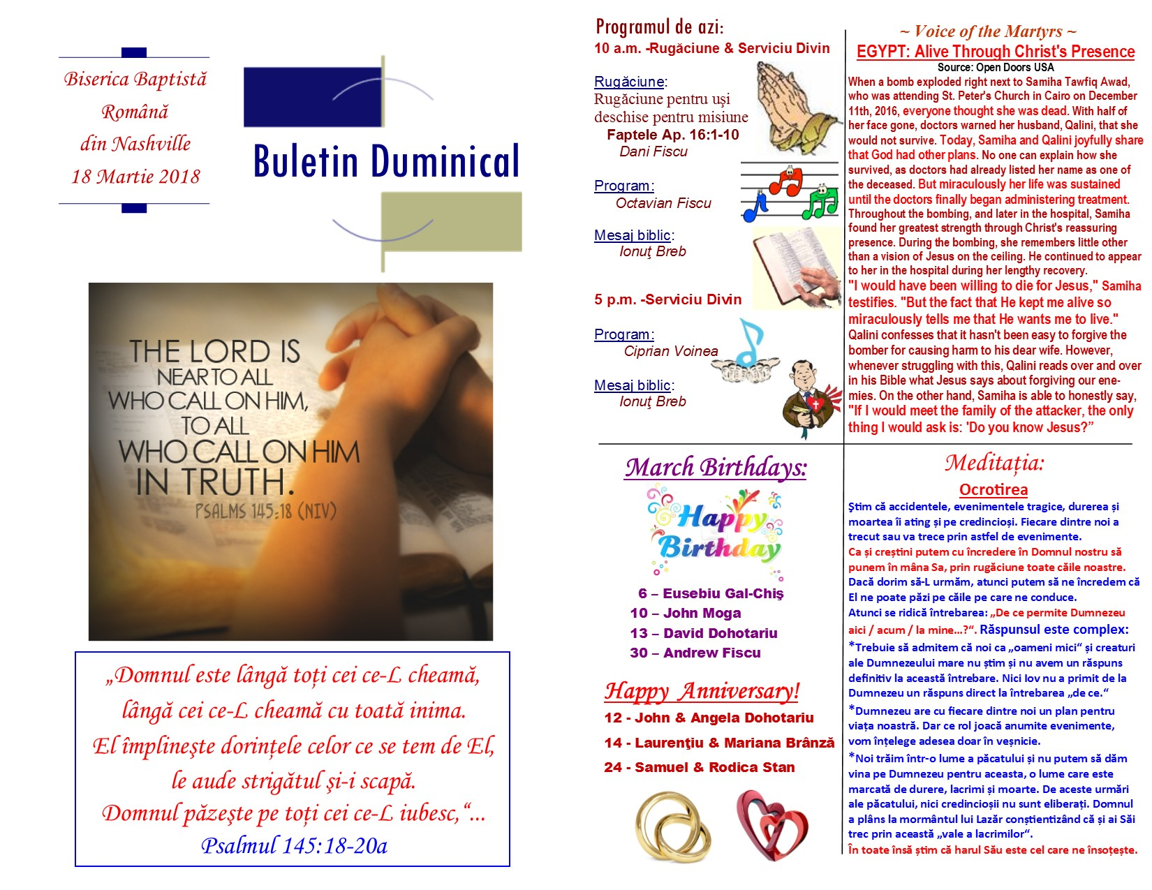 Buletin 03-18-18 page 1 & 2