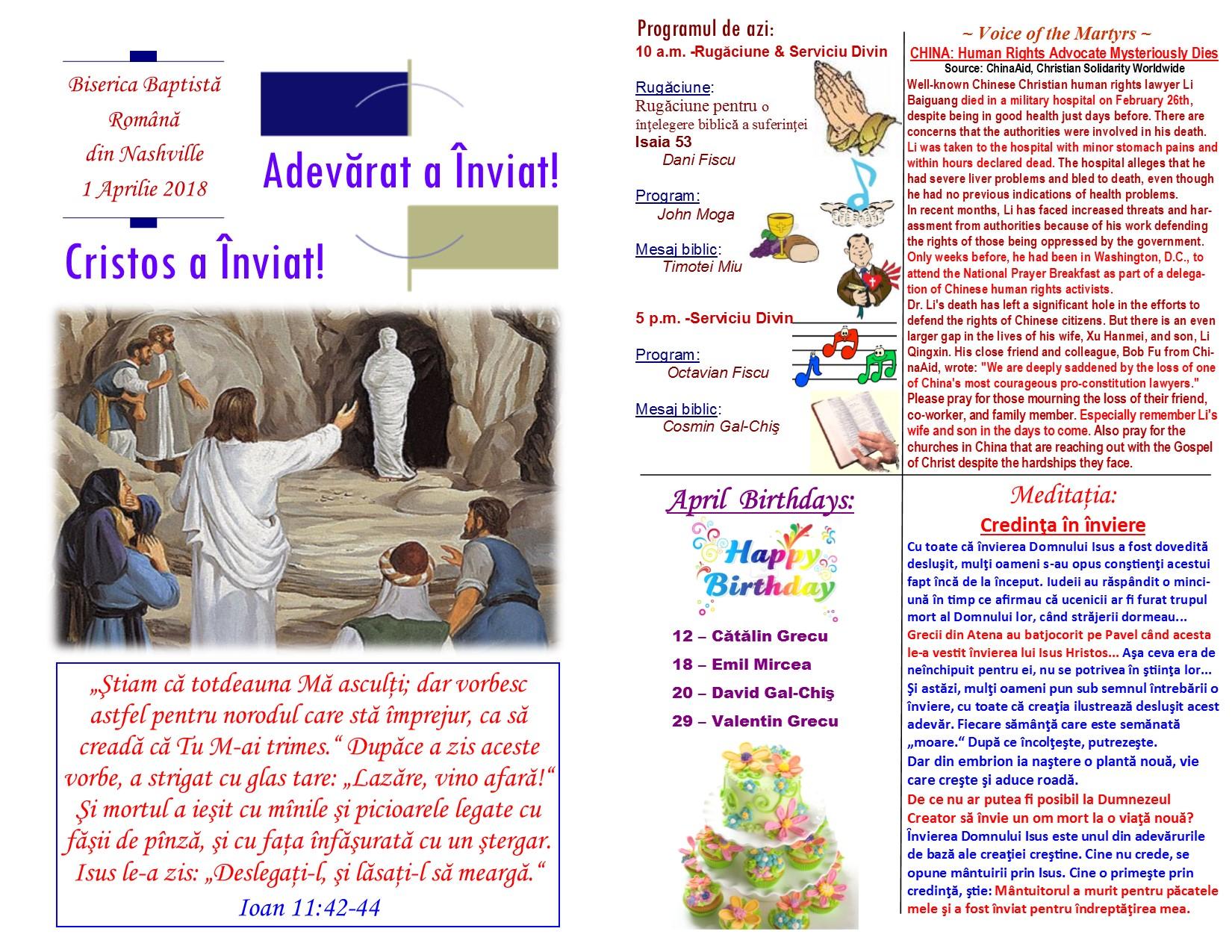 Buletin 04-01-18 page 1 & 2
