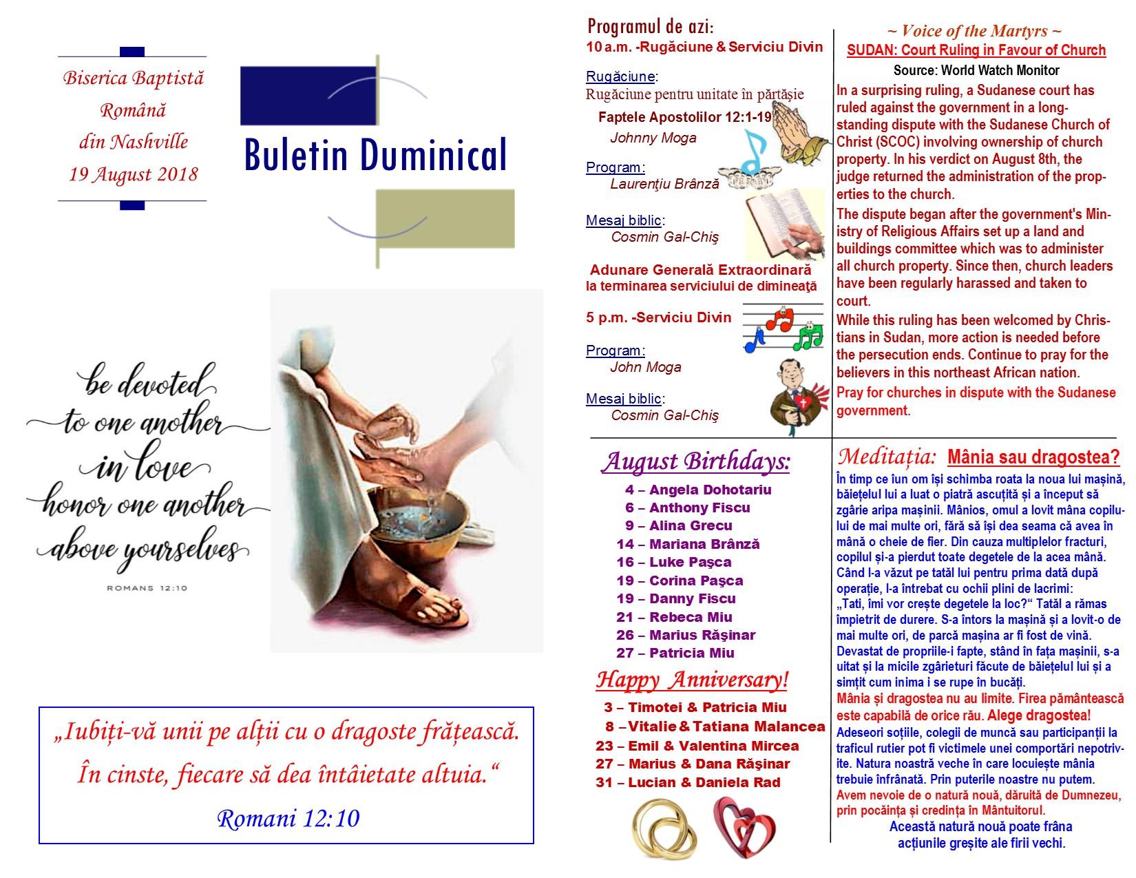 Buletin 08-19-18 page 1 & 2