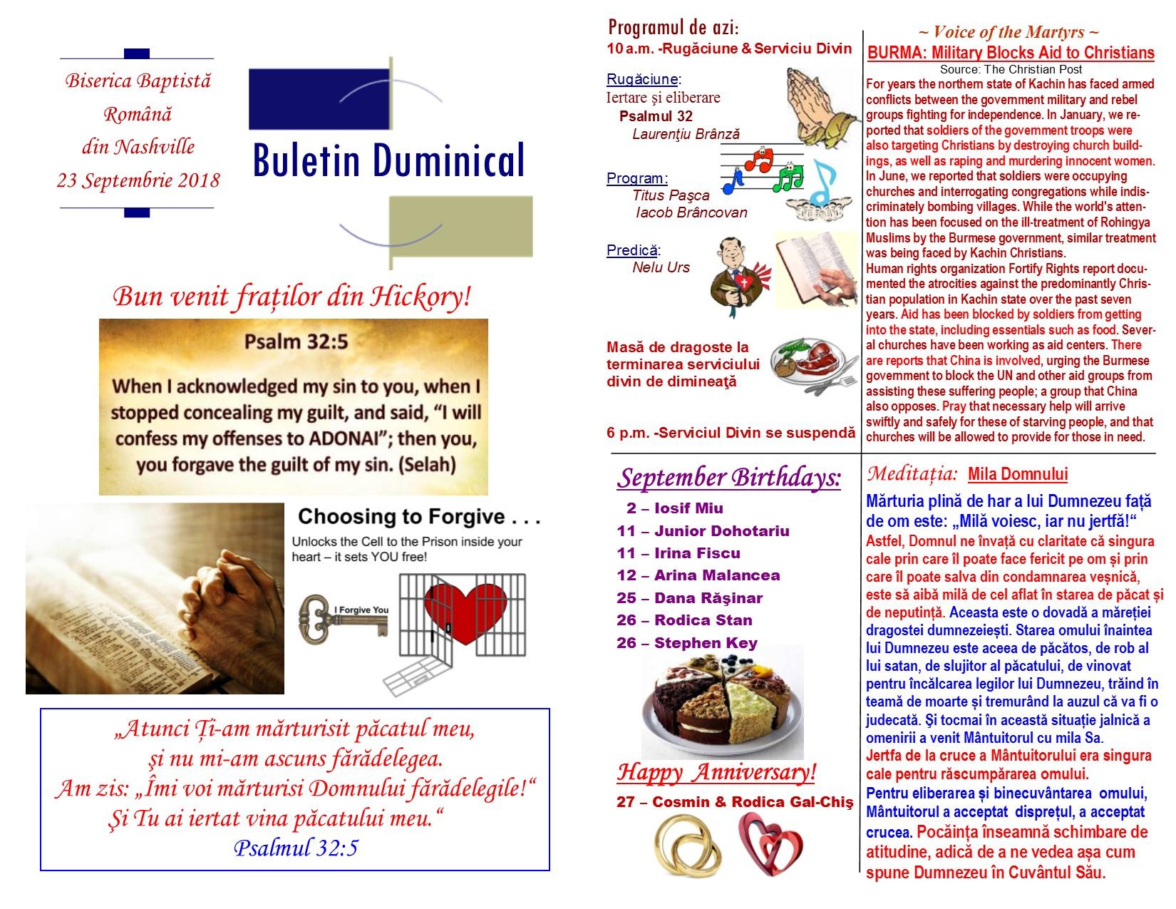 Buletin 09-23-18 page 1 & 2