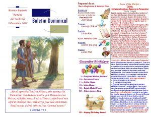 Buletin 12-09-18 page 1 & 2