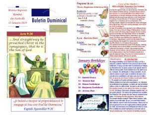 Buletin 01-13-19 page 1 & 2