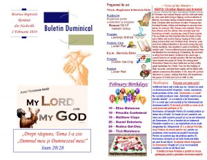 Buletin 02-03-19 page 1 & 2