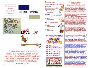 Buletin 02-17-19 page 1 & 2