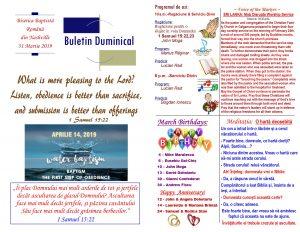 Buletin 03-31-19 page 1 & 2