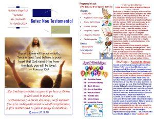 Buletin 04-14-19 page 1 & 2
