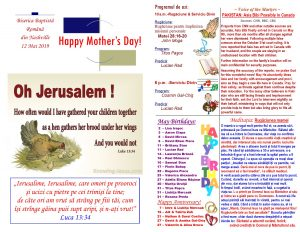 Buletin 05-12-19 page 1 & 2