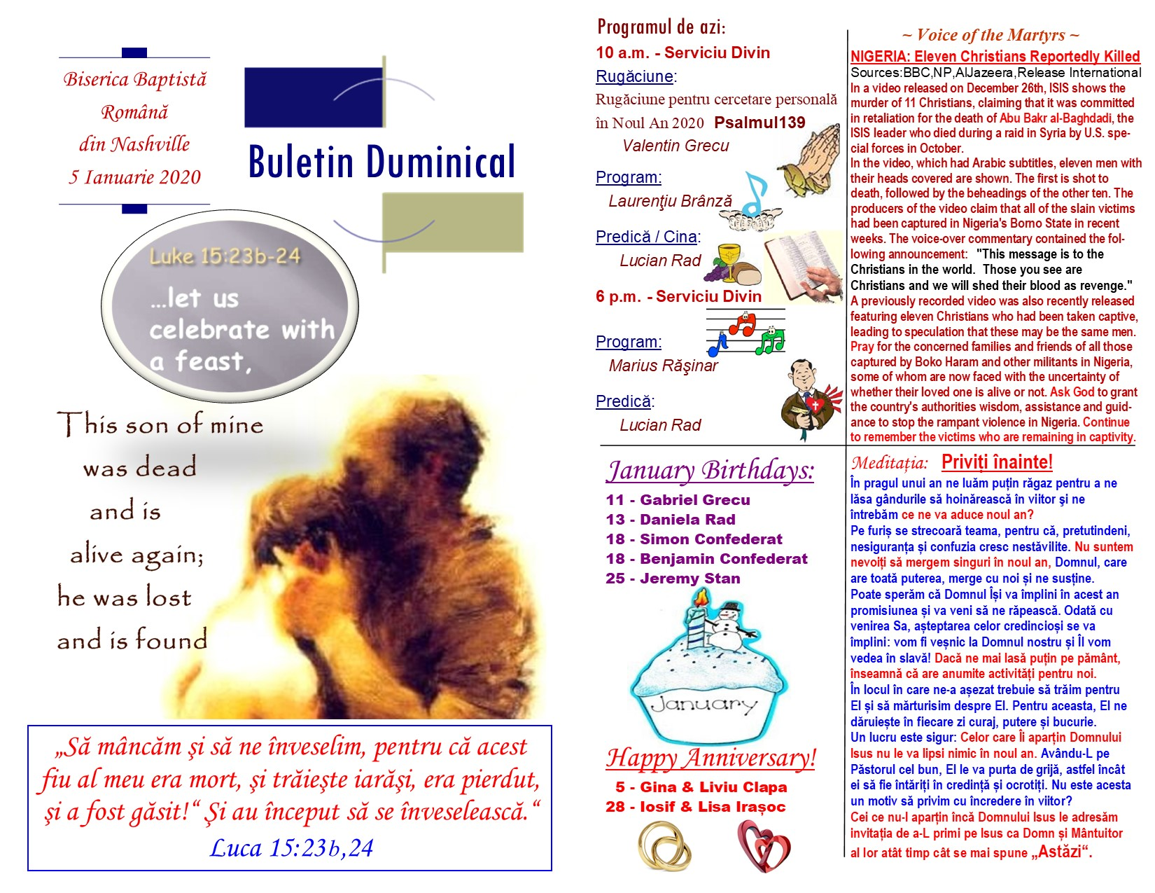 Buletin 01-05-20 page 1 & 2