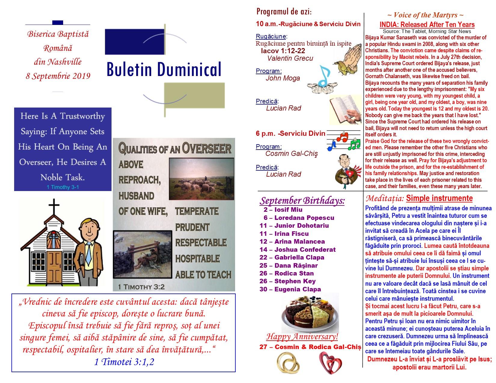 Buletin 09-08-19 page 1 & 2