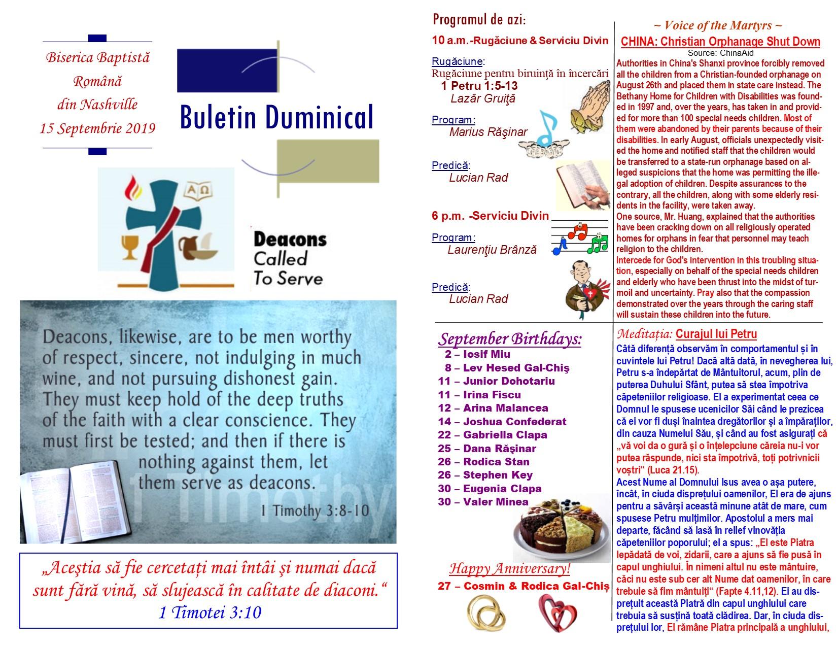 Buletin 09-15-19 page 1 & 2