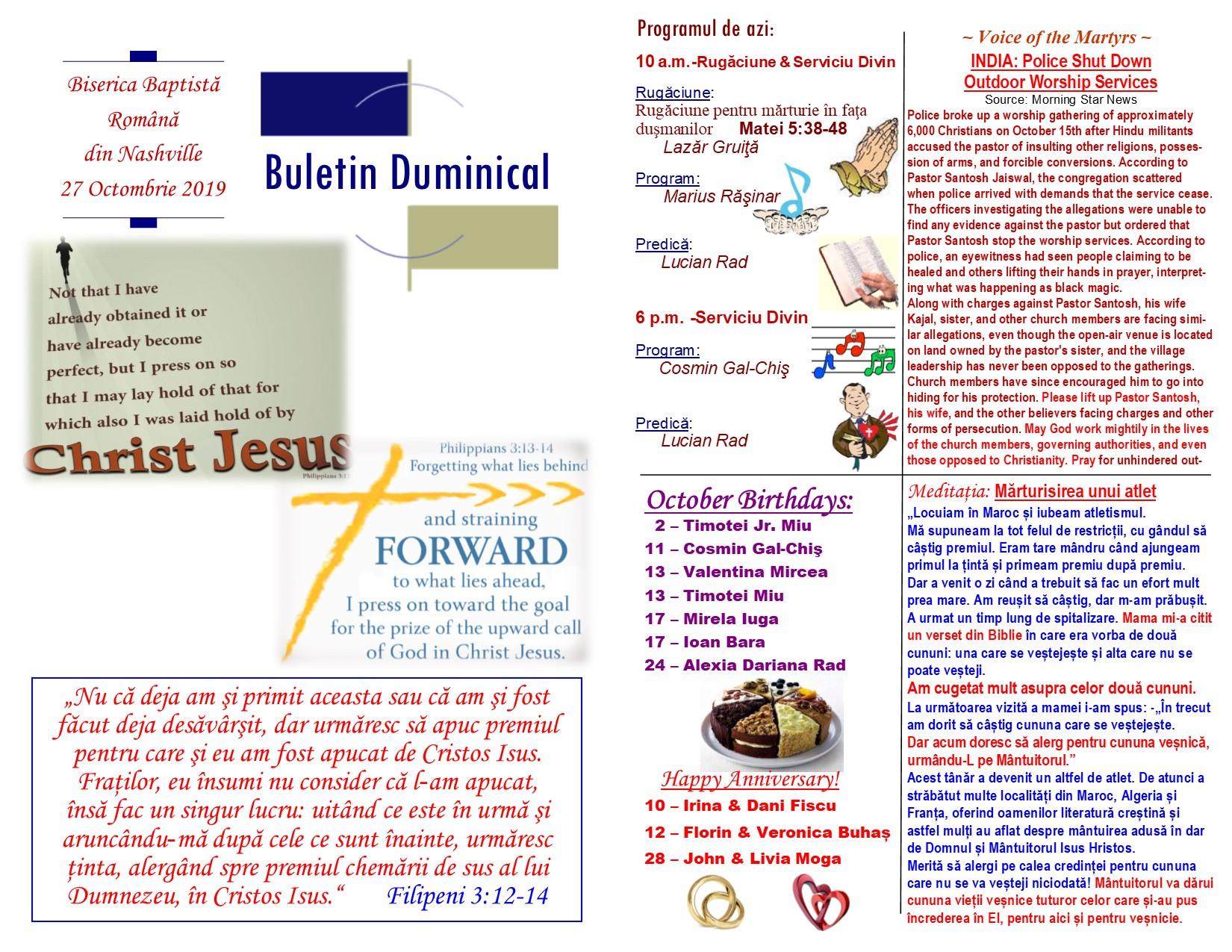 Buletin 10-27-19 page 1 & 2