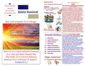 Buletin 11-10-19 page 1 & 2