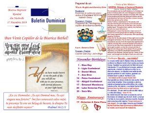 Buletin 11-17-19 page 1 & 2