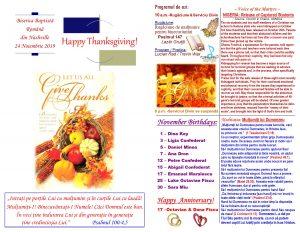 Buletin 11-24-19 page 1 & 2