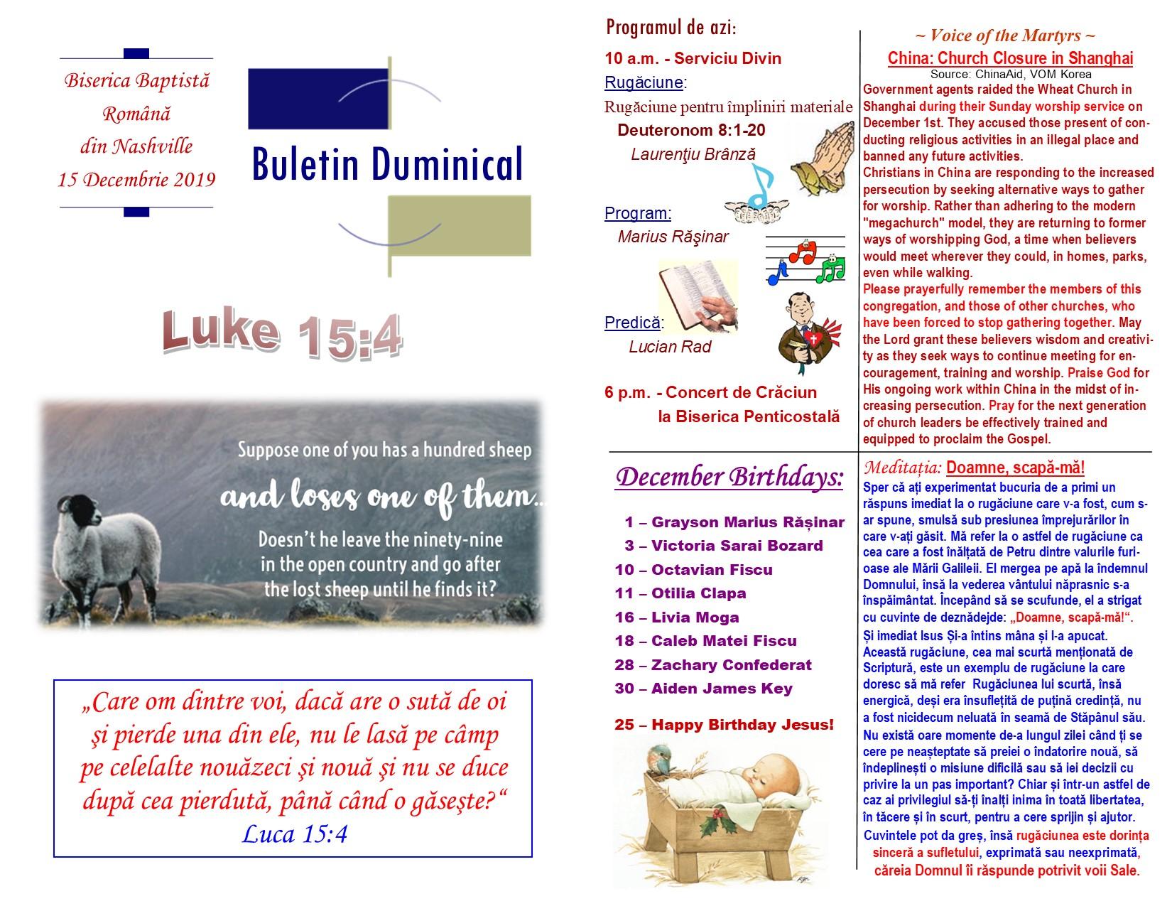 Buletin 12-15-19 page 1 & 2
