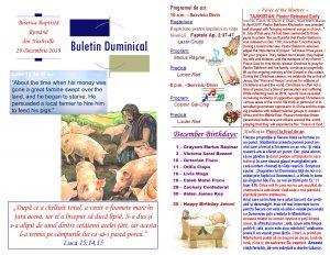Buletin 12-29-19 page 1 & 2