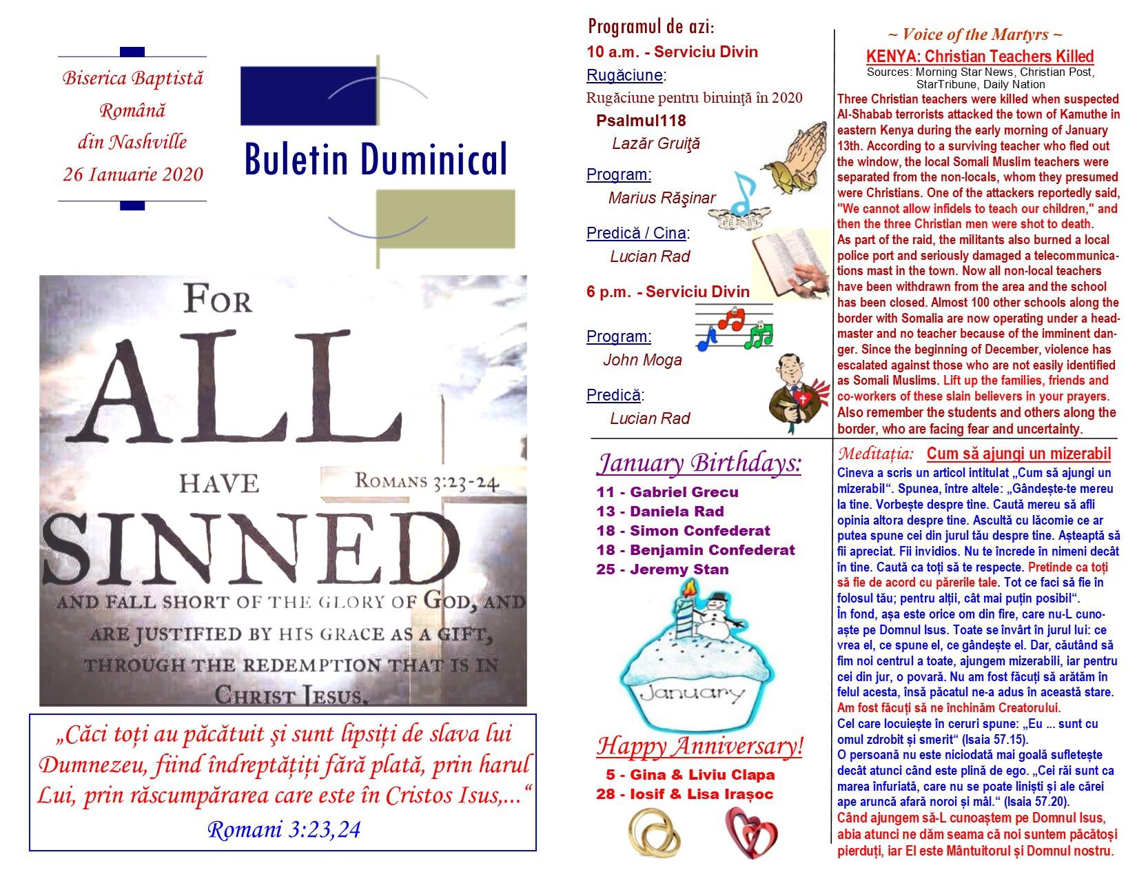 Buletin 01-26-20 page 1 & 2