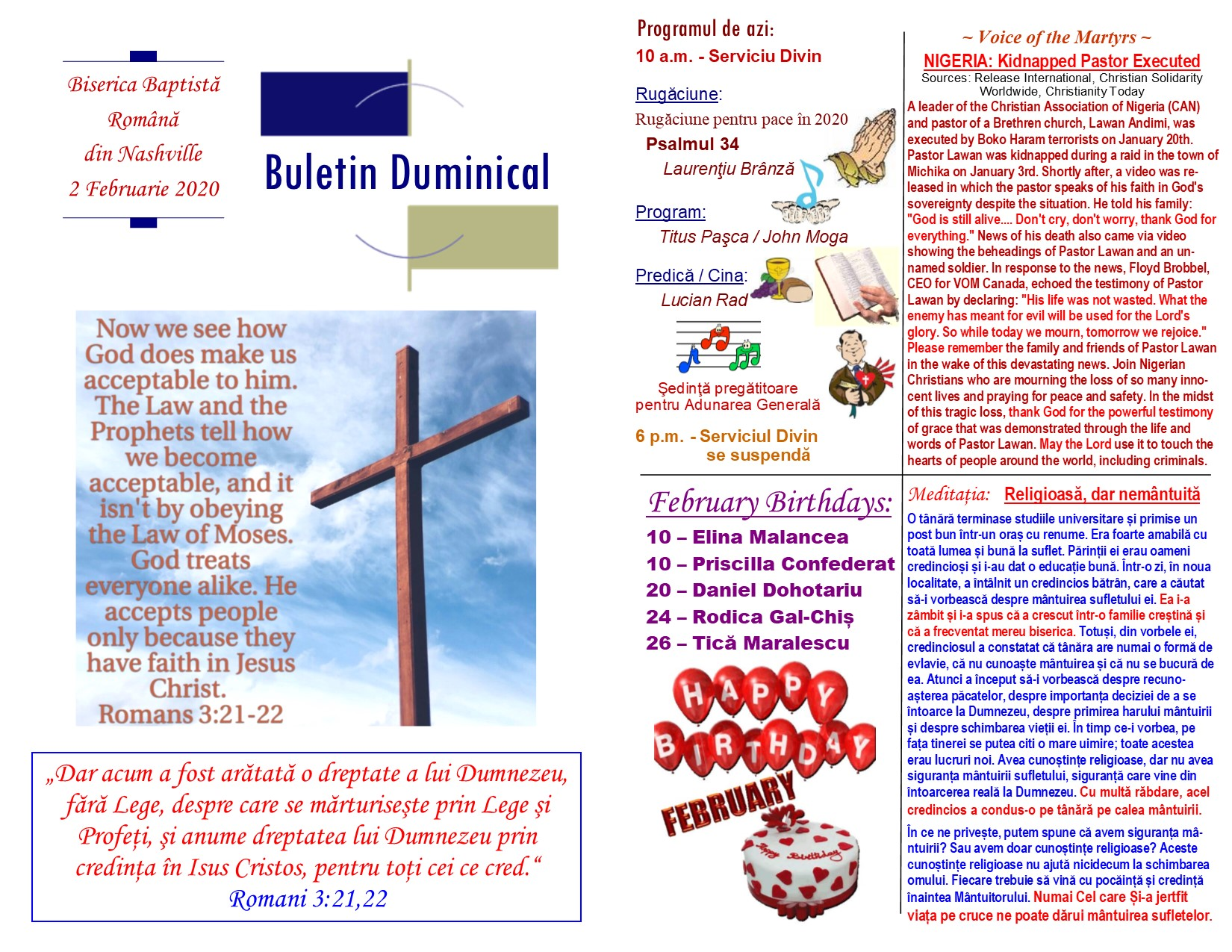 Buletin 02-02-20 page 1 & 2