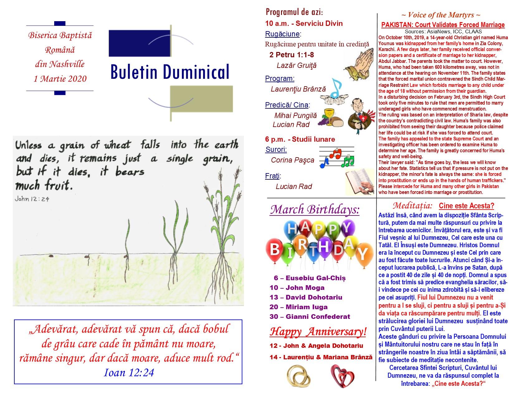 Buletin 03-01-20 page 1 & 2